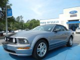 2006 Tungsten Grey Metallic Ford Mustang GT Premium Convertible #63595634