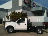2012 Oxford White Ford F250 Super Duty XL Regular Cab Chassis #63596355