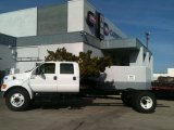 2012 Ford F650 Super Duty XL Crew Cab Chassis Exterior