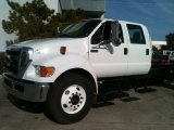 Oxford White Ford F650 Super Duty in 2012