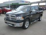 2012 Black Dodge Ram 1500 Laramie Longhorn Crew Cab 4x4 #63595996