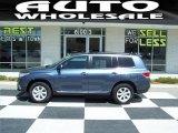 2012 Shoreline Blue Pearl Toyota Highlander SE #63595984