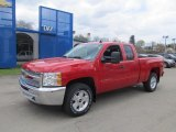 2012 Victory Red Chevrolet Silverado 1500 LT Extended Cab 4x4 #63595589