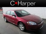 2006 Sport Red Metallic Chevrolet Impala LS #63596308