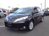 2011 Black Toyota Sienna Limited AWD #63596284