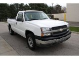 2003 Summit White Chevrolet Silverado 1500 LS Regular Cab 4x4 #63596273