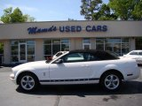 2007 Performance White Ford Mustang V6 Premium Convertible #63595884