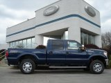 2012 Dark Blue Pearl Metallic Ford F250 Super Duty XLT Crew Cab 4x4 #63595510