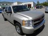 2008 Silver Birch Metallic Chevrolet Silverado 1500 LS Crew Cab #63595871