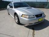 2000 Silver Metallic Ford Mustang V6 Coupe #63595812