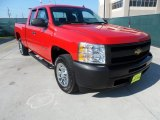 2009 Victory Red Chevrolet Silverado 1500 Extended Cab #63595811