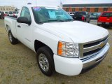 2011 Summit White Chevrolet Silverado 1500 LS Regular Cab #63596146