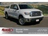 2012 Super White Toyota Tundra Platinum CrewMax 4x4 #63595398