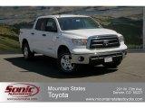 2012 Super White Toyota Tundra SR5 TRD CrewMax 4x4 #63595393