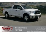 2012 Super White Toyota Tundra TRD Double Cab 4x4 #63595392