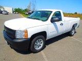 2012 Summit White Chevrolet Silverado 1500 Work Truck Regular Cab #63596127