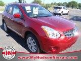 2012 Cayenne Red Nissan Rogue SL #63595226