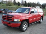 Flame Red Dodge Ram 1500 in 1998
