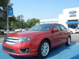 2010 Sangria Red Metallic Ford Fusion SEL #63671312