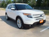 2013 White Platinum Tri-Coat Ford Explorer Limited #63671932