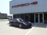 2008 Midnight Blue Metallic Porsche 911 Turbo Cabriolet #63671922
