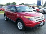 2011 Red Candy Metallic Ford Explorer XLT #63671286
