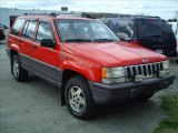 1995 Jeep Grand Cherokee Flame Red