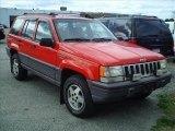 1995 Flame Red Jeep Grand Cherokee Laredo 4x4 #63671913
