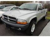 2004 Bright Silver Metallic Dodge Dakota SXT Quad Cab 4x4 #63671571