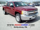 2012 Chevrolet Silverado 1500 Deep Ruby Metallic