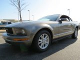 2005 Mineral Grey Metallic Ford Mustang V6 Deluxe Convertible #63671779