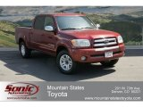 2005 Salsa Red Pearl Toyota Tundra SR5 Double Cab 4x4 #63671069