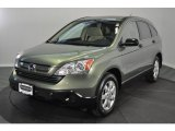 2009 Green Tea Metallic Honda CR-V EX 4WD #63671764