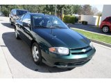 Dark Green Metallic Chevrolet Cavalier in 2003