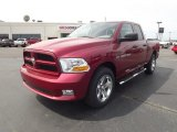 2012 Deep Cherry Red Crystal Pearl Dodge Ram 1500 Express Quad Cab 4x4 #63671468