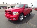 2012 Flame Red Dodge Ram 1500 Express Regular Cab 4x4 #63671466
