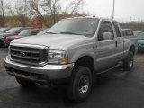 2004 Silver Metallic Ford F250 Super Duty XLT SuperCab 4x4 #63671723