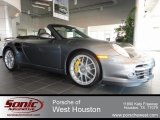 2012 Meteor Grey Metallic Porsche 911 Turbo S Cabriolet #63671444