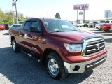 2010 Salsa Red Pearl Toyota Tundra TRD Double Cab 4x4 #63671698