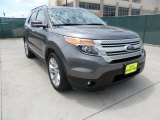 2013 Sterling Gray Metallic Ford Explorer XLT #63671404