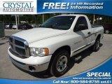 2005 Bright White/Custom Graphics Dodge Ram 1500 ST Regular Cab #63671664