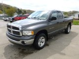 2002 Graphite Metallic Dodge Ram 1500 SLT Quad Cab 4x4 #63671379