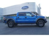 2012 Blue Flame Metallic Ford F150 SVT Raptor SuperCrew 4x4 #63671350