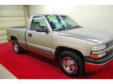 2002 Light Pewter Metallic Chevrolet Silverado 1500 LS Regular Cab #63723411