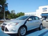 2012 Ingot Silver Metallic Ford Focus SEL 5-Door #63723384