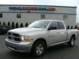2012 Bright Silver Metallic Dodge Ram 1500 SLT Quad Cab 4x4 #63724006