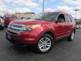 2011 Red Candy Metallic Ford Explorer XLT 4WD #63723370