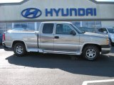 2003 Light Pewter Metallic Chevrolet Silverado 1500 LT Extended Cab 4x4 #63723333