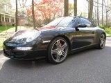 2008 Black Porsche 911 Carrera 4S Cabriolet #63723317