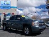 2008 Blue Granite Metallic Chevrolet Silverado 1500 LT Crew Cab 4x4 #63723313